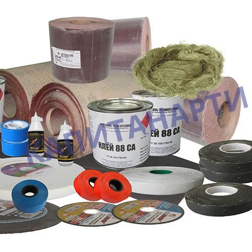 Материалы для монтажа, абразивные материалы, полимерные изделия