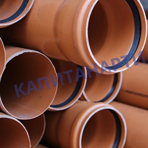 Трубы канализационные ПП и ПВХ и фасонные части