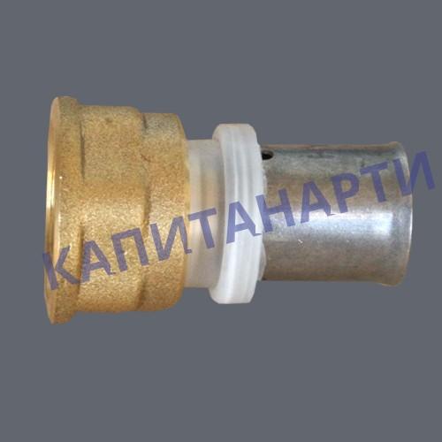 ПРЕСС-Соединение для МП труб с внутренней резьбой