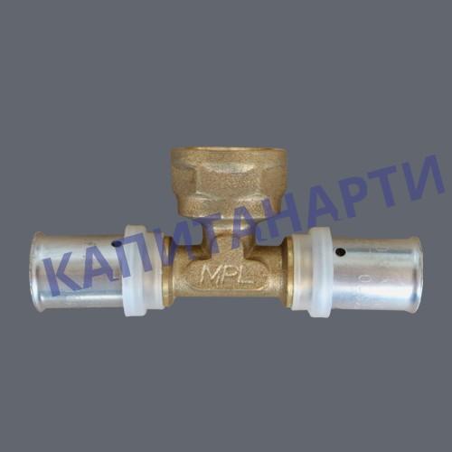 ПРЕСС-Тройник для МП труб с внутренней резьбой