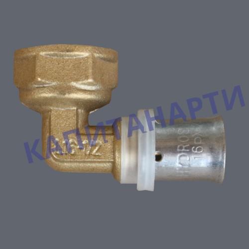 ПРЕСС-Угольник для МП труб с внутренней резьбой