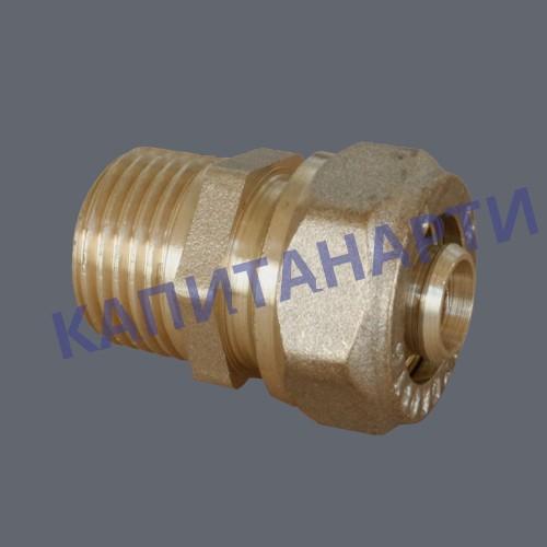 Соединение для МП труб с наружной резьбой