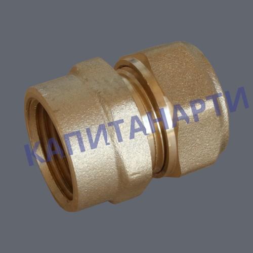 Соединение для МП труб с внутренней резьбой