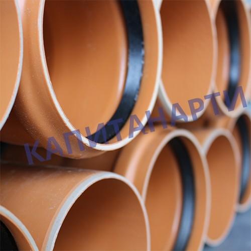 Труба ПВХ для наружной канализации